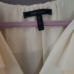 Bcbg silk blouse